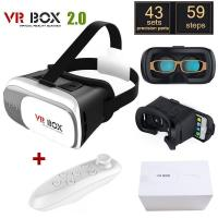 "Original Google Cardboard VR BOX II 2.0 VR Virtual Reality 3D Glasses For 4""-6"" Smartphon"