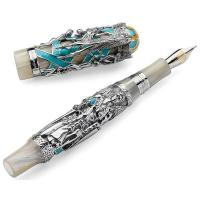 China Montegrappa My Guardian Angel Fountain Pen - Sterling Silver on sale