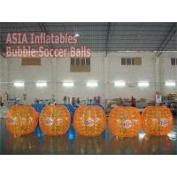 Buy cheap Bubble Soccer Ball Full Color Bubble Suits in Red & Orange Details from wholesalers