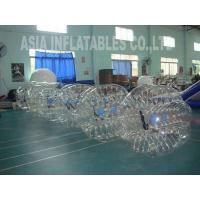 Buy cheap Bubble Soccer Ball Traspatent Inflatable Bubble Suits Details from wholesalers