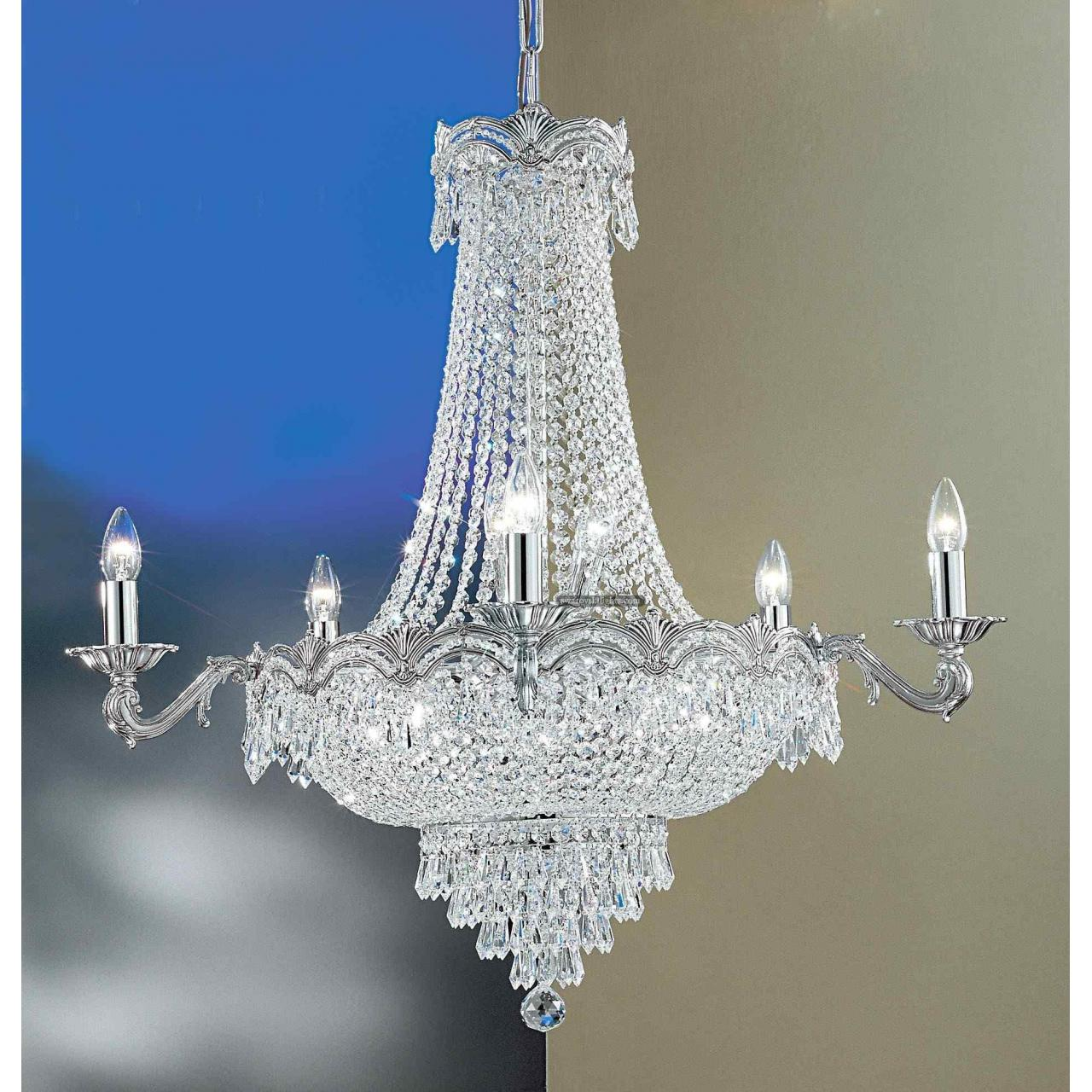 Silver Crystal Chandelier Images Images Of Silver Crystal Chandelier