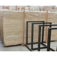 Buy cheap Imported Italian beige travertine marble flooring tiles product