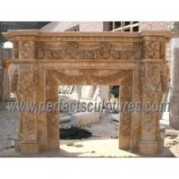 Fireplace Mantels Marble Stone Quality Fireplace Mantels Marble Stone For Sale