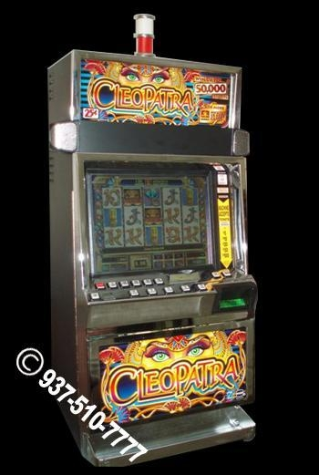 cleopatra slot machine for sale