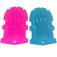 Buy cheap RENJIA silicone glove mold Silicone Massage Bath Gloves silicone glove mitt product