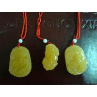Buy cheap Martial Arts Uniforms beige Jade Pendant 2012921153151 from wholesalers