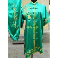 Buy cheap Martial Arts Uniforms green kungfu uniform with phenix and flo 2012723155248 product