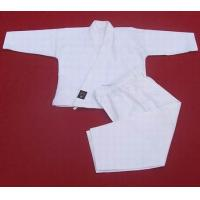 China Martial Arts Uniforms White Karate suit 2012822162010 on sale