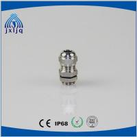 China CE Approved Waterproof 304 Stainless Steel Cable Gland with metal locknuts wholesale