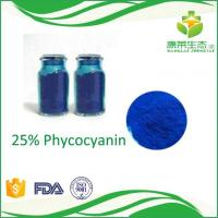 Buy cheap Spirulina Extract Powder 98% Phycocyanin Anti-radiation and Anti-cancer product