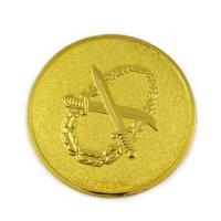 China Simple Design Gold Plating Coins Marine Challenge Coin Supplier MC-012 wholesale