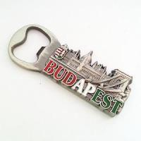 China Budapest Metal Souvenir Bottle Opener Wholesaler Hungary Travel Beer Opener BK-034 wholesale