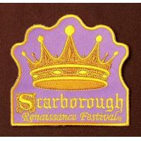 Buy cheap Fashion Purple Embroidered Badges Iron on for Girls Custom Logo Embroidered Patches EB-009 product