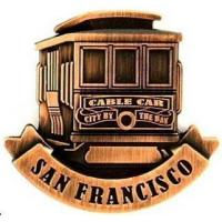 Buy cheap Customized 3D San Francisco Travel Fridge Magnet Cool Magnet Supplier MF-002 product
