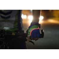 Buy cheap Lighting Bike Gloves Mountain Biking Gloves with LED Light/ Cycling LED Gloves product