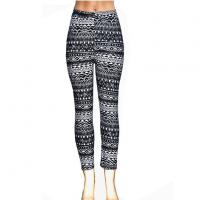 Buy cheap New Fashion Women Lady Skinny Tribal Tapestry Printed Stretchy Leggings from wholesalers