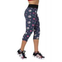 Buy cheap Hot Sexy Women Fashion High Waist Skull Printed Workout Fitness Capri Leggings product