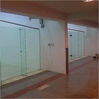Glass Back Wall Product Code02