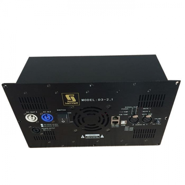 Quality D3-2.1 2.1 Channel Class D Stereo Plate Amplifier Kit with DSP for 2.1 Home Theater System for sale