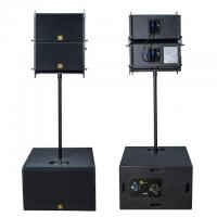 Buy cheap VR10 & S30 10 Inch Tops and 15 Inch Subs Portable Powered Line Array Speaker System with DSP product