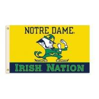 "China Notre Dame ""Irish Nation"" 3 x 5 Flag wholesale"