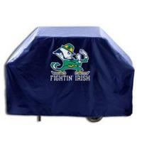 """Buy cheap Notre Dame Leprechaun Grill Cover (55"""" long) product"""
