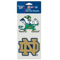Buy cheap Notre Dame Set of (2) Die-Cut Decals product