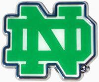 """Buy cheap Notre Dame """"Green ND"""" Auto Emblem product"""