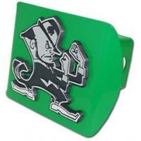 "China Notre Dame Green ""Leprechaun"" Hitch Cover wholesale"