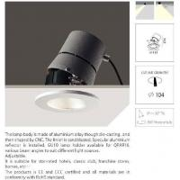 China Recessed Down Light B2023/GU wholesale