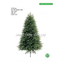 China New products 2016 artificial PE Christmas tree MJ60T-1000 wholesale