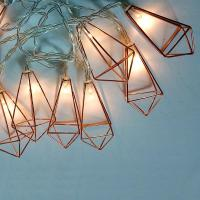 Buy cheap Copper GEO Wire LED String lights DU160002-B/O product