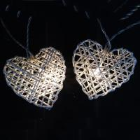 Buy cheap Heart LED String lights DU160074-B/O product