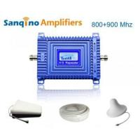 China Sanqino H5 GSM+CDMA mobile phone signal booster on sale