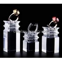 Buy cheap Hot sale acrylic fashion jewelry display stands acrylic display holder ring display RDJ-012 from wholesalers