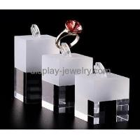 Buy cheap Customized acrylic jewelry display ring display stand display counter RDJ-014 from wholesalers