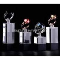 Buy cheap Factory customized acrylic jewelry rings display acrylic jewelry display ring display stand RDJ-009 from wholesalers