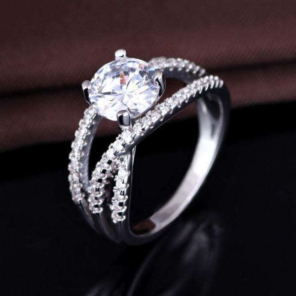 Design Your Own Wedding Ring Design Your Own Engagement Wedding Vogue Jewelry Women Stackable Ring