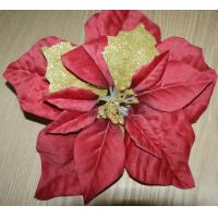 China 2016 The New Christmas Flower Red Christmas Holiday Decorations wholesale