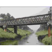 Buy cheap Universal Surface Painted Long Span Bridge , Temporary Modular Bridge For Engineering product