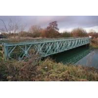 China Rapid Build Long Span Bridges Pins Connection Portable Steel Truss Bridge wholesale