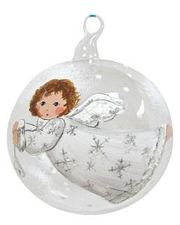 Quality White Angel Flying with Bell for sale