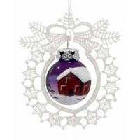 Buy cheap Wreath Lace Ornament Chalet product