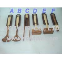 China Bamboo and wooden meat hammer, tongs, citrus reamer【 eggbeater-tray-houseware】 wholesale