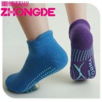Buy cheap Outdoor Wholesale Custom made child trampoline jump socks with Rubber sole product