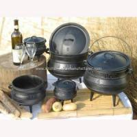 Buy cheap Hot sale High quality south africa three legs cast iron potjie pot product