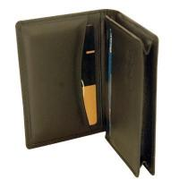 Buy cheap Cow hide leather card holder(Round pocket)(673) product