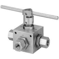 China 4 Way High Pressure Ball Valve on sale