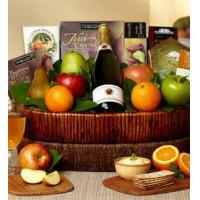 Buy cheap Farmstand Finest Deluxe Fruit Gift Basket NO.7 delivery basket product
