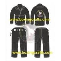 Buy cheap BJJ GI black BJJ PEARL WEAVE GI product